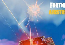В Fortnite добавили воздушный удар