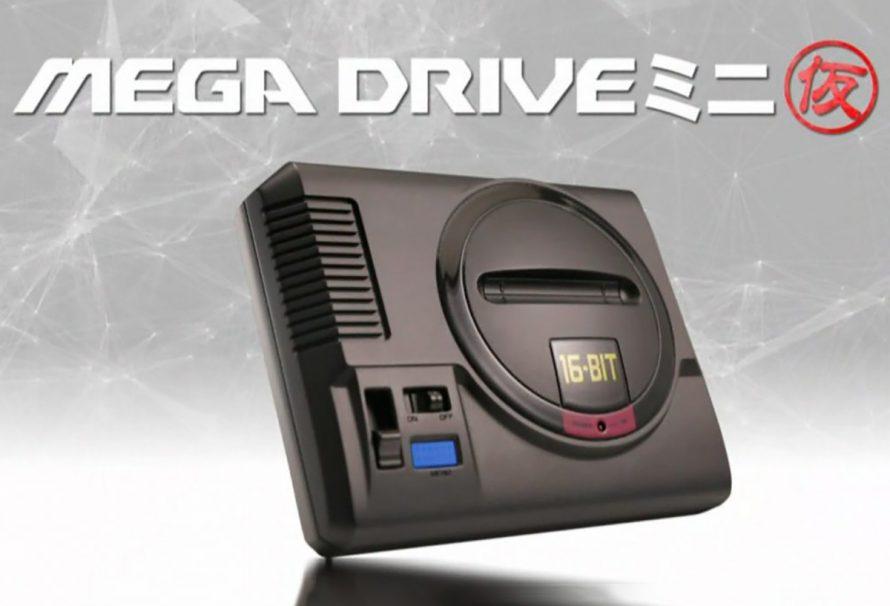 Sega Mega Drive возвращается в уменьшенном виде