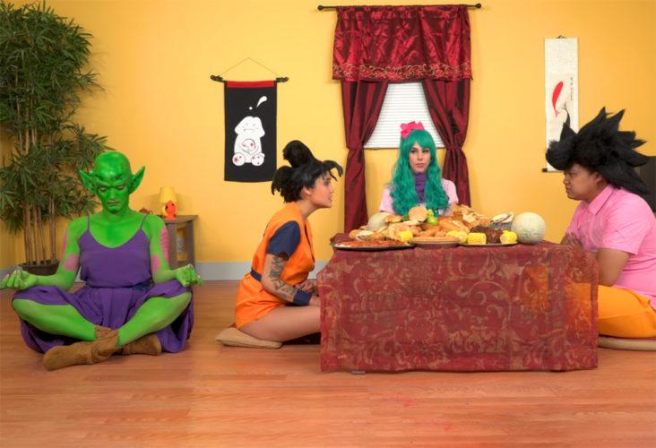 Неизбежная порно-пародия на Dragon Ball Z