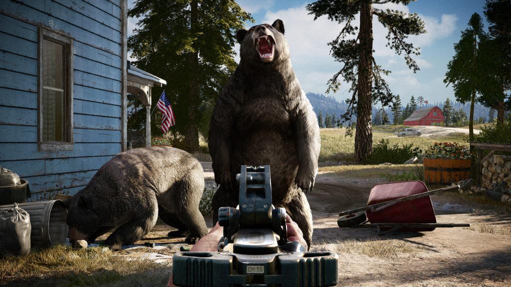 Обзор Far Cry 5: медведи и трактор в куче фарша