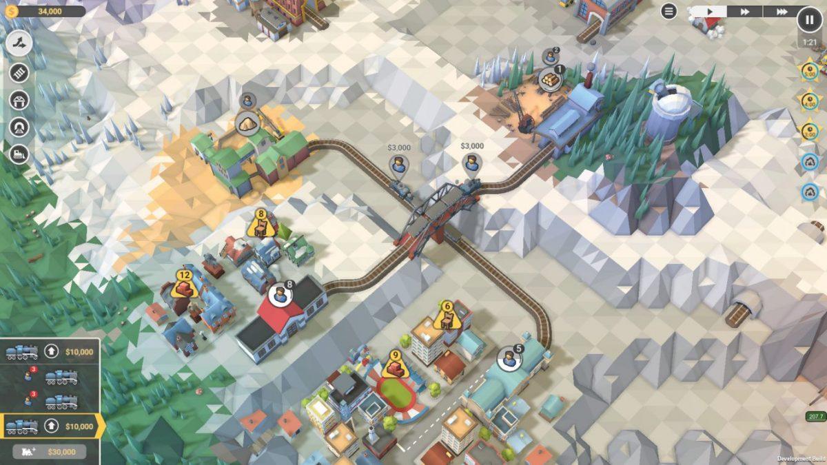 Обзор Train Valley 2: А что, если пустить два поезда навстречу?