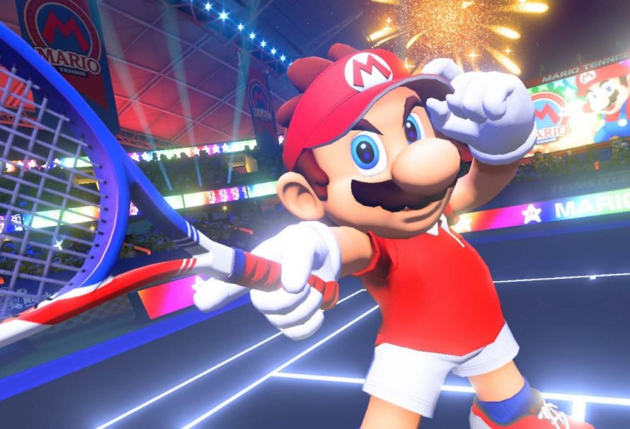 В Mario Tennis Aces пройдет предрелизный турнир