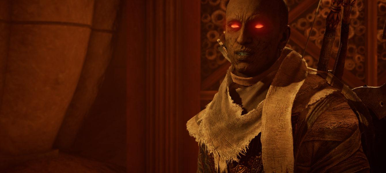 Мумия без маски в Assassin's Creed