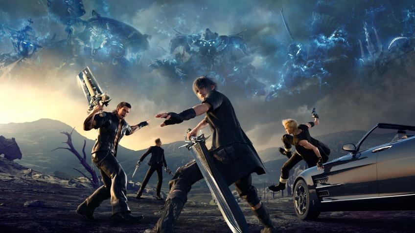 Final Fantasy XV ждет кроссовер с Ларой Крофт и 4 DLS