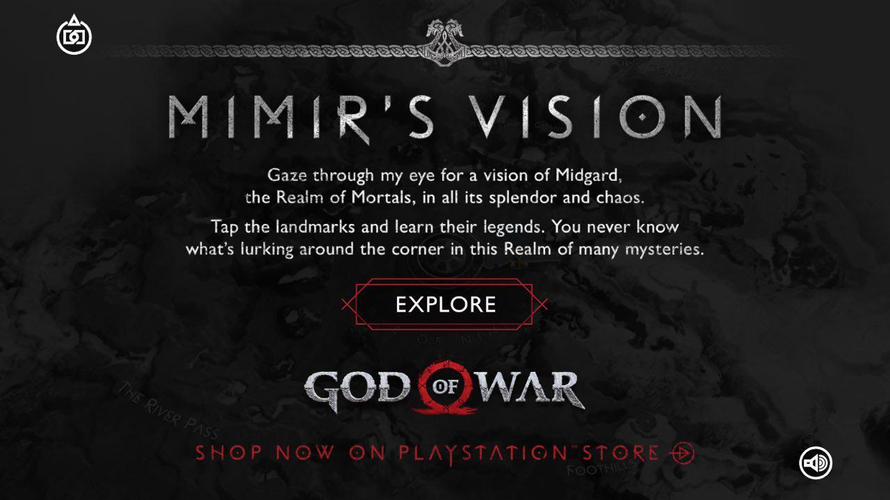 Для God of War выпустили бесплатное мобильное приложение