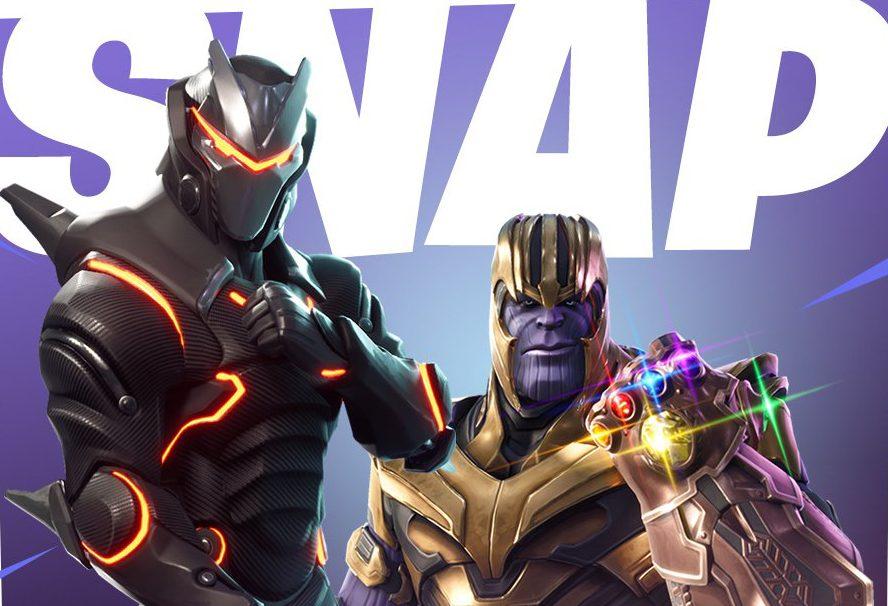 В Fortnite можно будет сыграть за Таноса с 8 мая