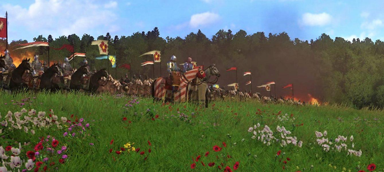 Kingdom Come: Deliverance: Цветочки цветут, птички поют