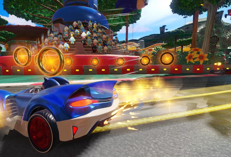 Sega анонсировала новую гоночную игру про ежа Соника