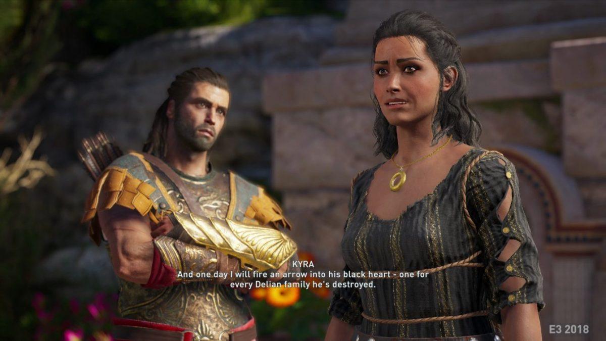 В сеть утекли первые скриншоты Assassin's Creed Odyssey