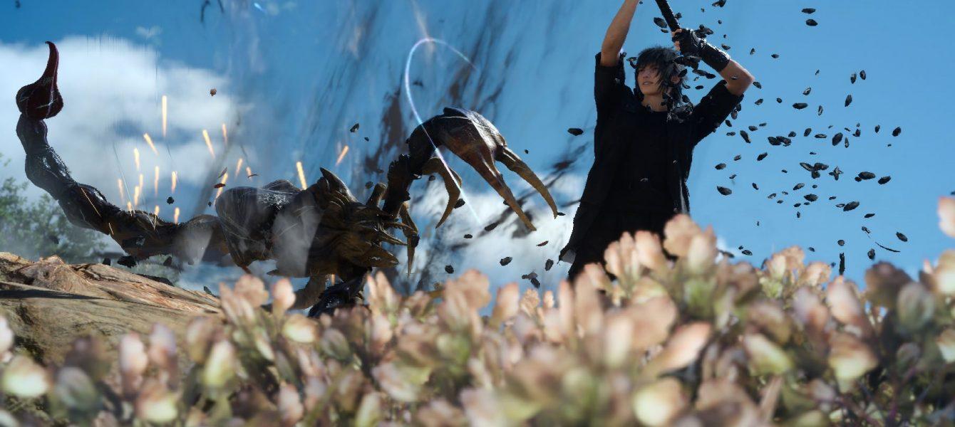 Final Fantasy XV: А Промто круто фоткает!