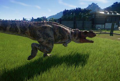 Jurassic World Evolution: Цератозавр