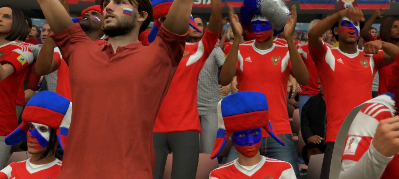FIFA 18: Россия – Египет 3:1
