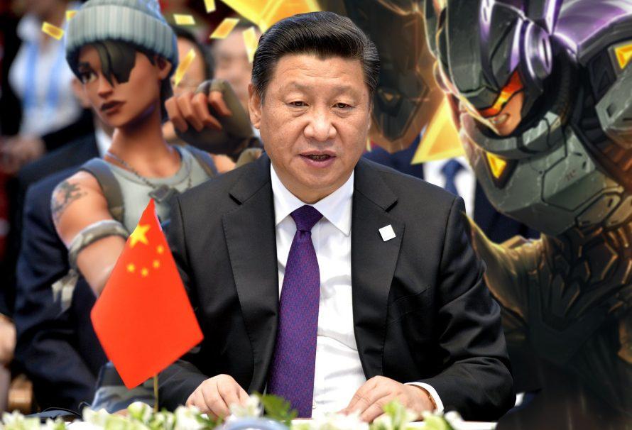 Си Цзиньпинь против видеоигр • Акции Tencent падают
