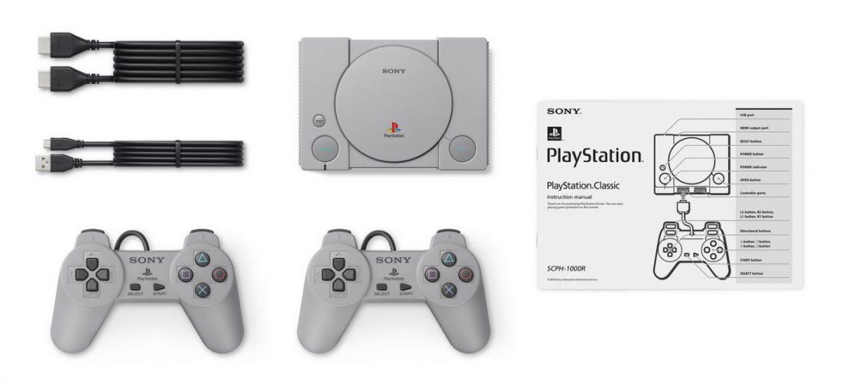 Sony анонсировала PlayStation Classic с 20 предустановленными играми