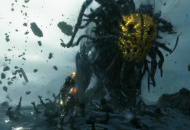 Death Stranding:  Растеряха Сэм, чел в золотой маске и, предположительно, босс