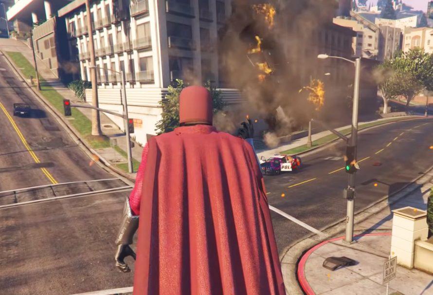 GTA V: Магнето на улицах Лос-Сантоса