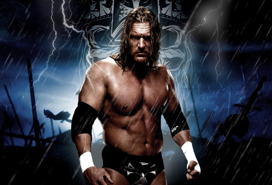 Трипл Эйч, суперзвезда WWE, подарил пояс чемпионов команде по Overwatch