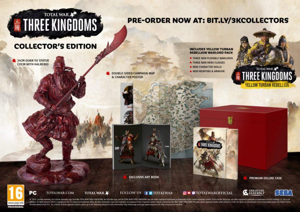 Total War: Three Kingdoms выйдет 7 марта 2019 • Объявлены бонусы за предзаказ и первое DLC