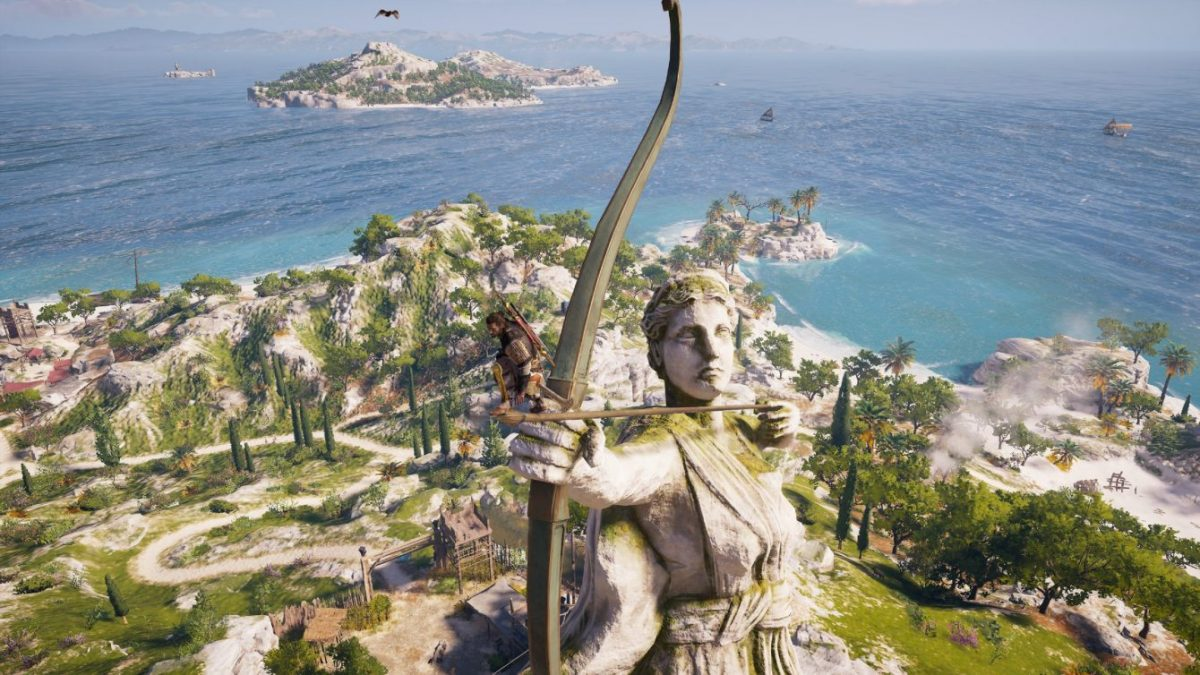 Обзор Assassin's Creed Odyssey: История Олимпийских масштабов