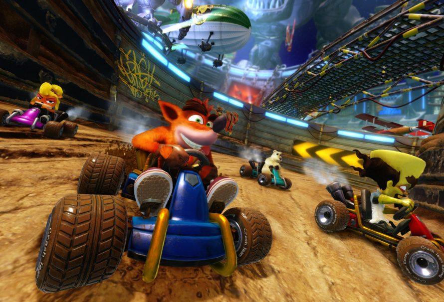 Crash Team Racing Nitro-Fueled: Геймплейный трейлер