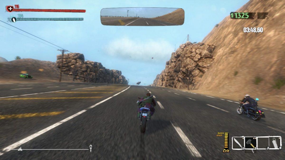Обзор Road Redemption: Классика в новой обертке, или как потерять мопед за пару секунд