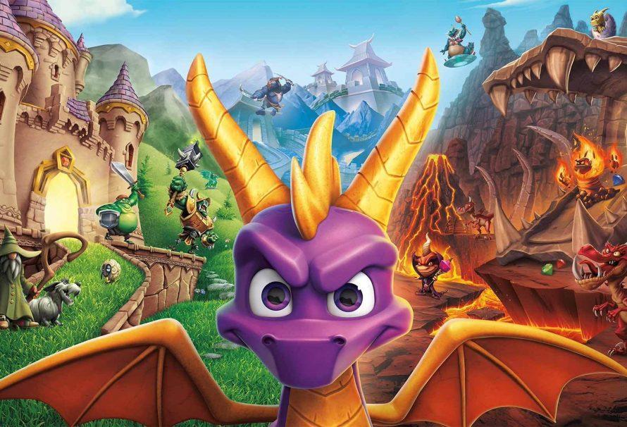 Обновление Spyro Reignited Trilogy добавит субтитры к видеороликам