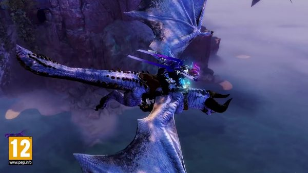 "Guild Wars 2: Демонстрация нового маунта ""Skyscale"""