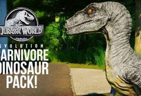 Jurassic World Evolution - Carnivore Dinosaur Pack: Трейлер