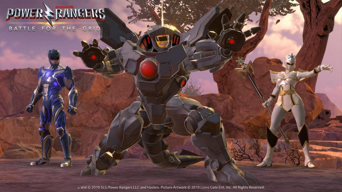 Power Rangers: Новые рейнджеры и сюжетный режим