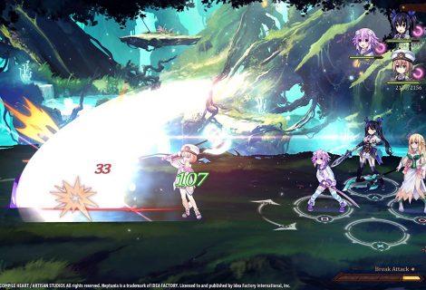 Super Neptunia RPG: Геймплейный трейлер