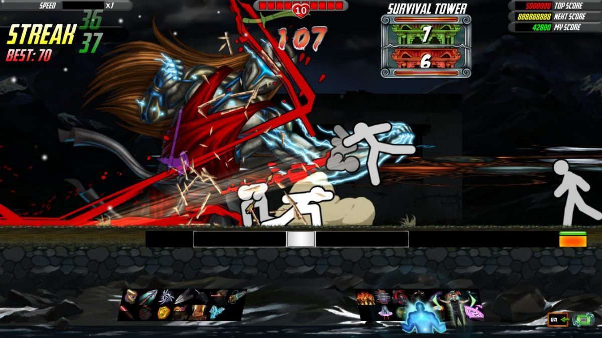 One Finger Death Punch 2: Я знаю кунг-фу, правда оно меня не знает
