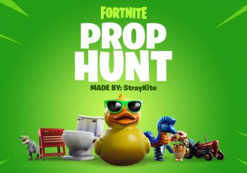 В Fortnite появился режим Prop Hunt (Охота на предметы)