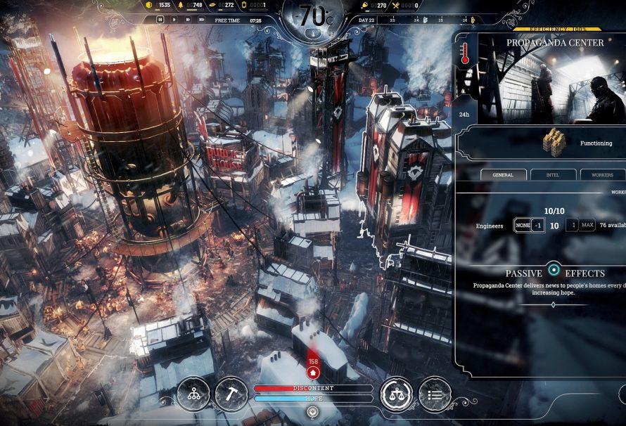 Frostpunk: Console Edition выходит на PS4 и Xbox One в октябре этого года
